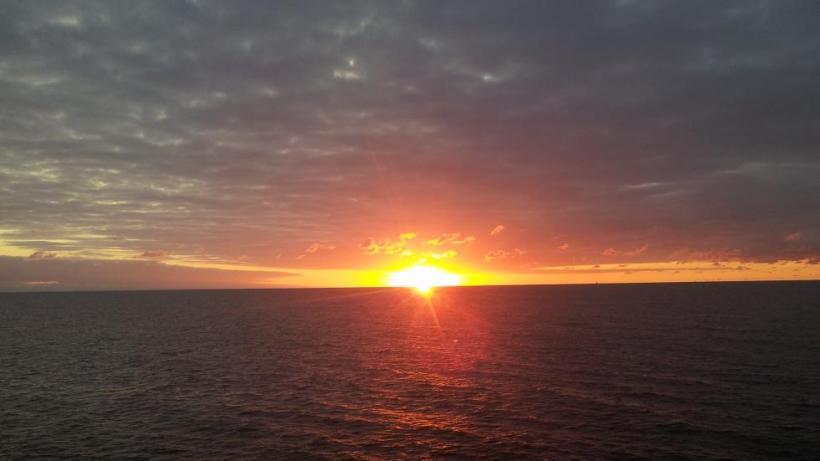 Memories: sunset at the Baltic (Palanga, Lithuania)